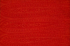 The texture of bright red cloth Royalty Free Stock Photo