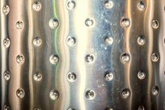 Texture brillante de chrome en métal Images libres de droits