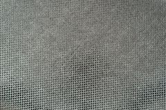 Texture brilliant fabric of dark green color Stock Images