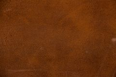 Texture of brown artificial leather. Imitation leather, Leatherette Royalty Free Stock Photography
