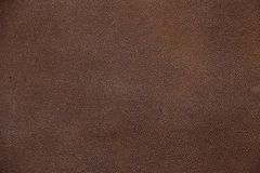 Texture of brown artificial leather. Imitation leather, Leatherette Royalty Free Stock Image