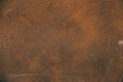 Texture of brown artificial leather. Imitation leather, Leatherette Stock Images
