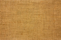 Texture of brown canvas Stock Image
