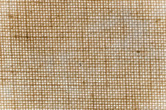Texture of a brown canvas Stock Images