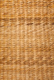 Texture of brown color of woven basket Stock Images