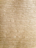 Texture of Brown crumpled paper. Texture of Light Brown crumpled paper Horizontal line background Royalty Free Stock Photography