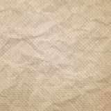 Texture of brown crumpled tissue paper. For background Royalty Free Stock Image