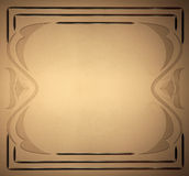 Texture brown frame Stock Image