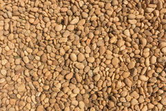 Texture of brown gravel Royalty Free Stock Photo