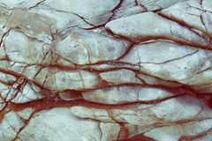 Texture of brown gray rock Royalty Free Stock Photos