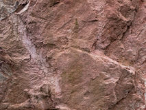 Texture of Brown Grunge Rock Stock Image