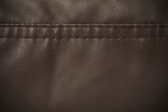 Texture brown leather Stock Photo