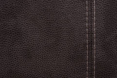 Texture brown leather Royalty Free Stock Photo