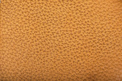 Texture of brown leather Stock Photos