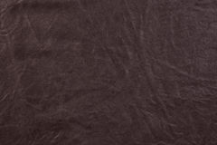 Texture of brown leather Stock Photo