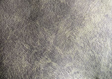 Texture of brown leather. Texture and surface of brown color leather Stock Photography