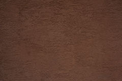 Texture of brown painted wall Royalty Free Stock Photos