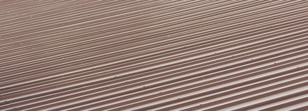 Texture of brown roof Royalty Free Stock Photography