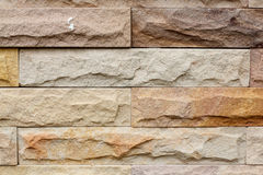 Texture of brown rough brick wall Stock Photography
