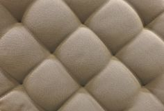 Texture of Brown Upholstery Fabric Pattern Background Royalty Free Stock Image