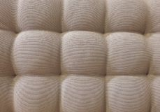 Texture of Brown Upholstery Fabric Textile Pattern Background Royalty Free Stock Images