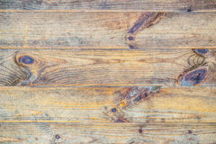 Texture of brown wood Royalty Free Stock Photo