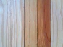 Texture of Brown Wooden Door, Wood Pattern in Vertical Stripe Stock Photography