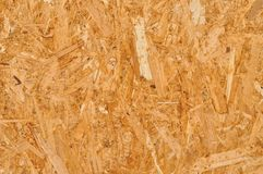 Texture of brown wooden plank Stock Photography