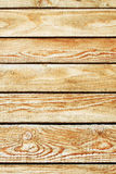 Texture of brown wooden wall Stock Photography