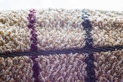 Texture brun clair de serviette Images stock