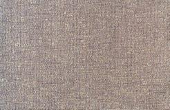 Texture brune de tissu de couleur de plan rapproché Photo libre de droits