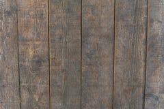 Texture brune en bois de grain, fond foncé de mur Photos stock
