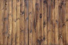 Texture brune en bois de grain, vue supérieure du fond en bois de mur de table en bois images stock