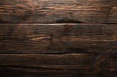 Texture brune en bois de grain, vue supérieure du fond en bois de mur de table en bois photo libre de droits