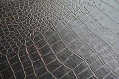 Texture brune en cuir Photos libres de droits