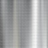 Texture of brushed metal with a geometrical pattern. Industrial Royalty Free Stock Photo