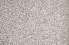 Texture bruyante grenue blanche sur le mur Photo libre de droits