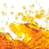 The texture of the bubbles of oil. Royalty Free Stock Images