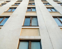 Texture of building with windows Stock Photography