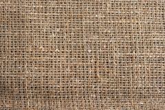 The texture of burlap Stock Photography