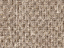 Texture of burlap Stock Photography