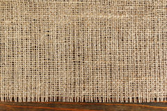 Texture of burlap Royalty Free Stock Image