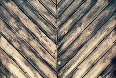 Texture of burned wood planks Royalty Free Stock Image