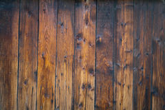 Texture of a burned wooden wall Royalty Free Stock Image