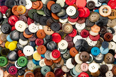 Texture of buttons. Great texture of vintage buttons Stock Image