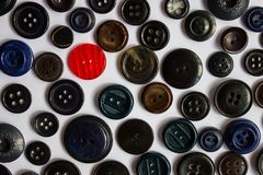 Texture of buttons. Stock Images