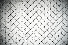 Texture the cage metal net Stock Image