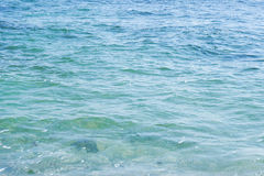 Texture of calm sea surface Royalty Free Stock Image