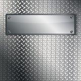Texture cannelée en métal. Photo libre de droits