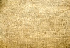 Texture of the canvas. Background old  sack by a large plan Royalty Free Stock Photography